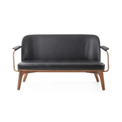 Utility Lounge Chair Two Seater | Sofás lounge | Stellar Works