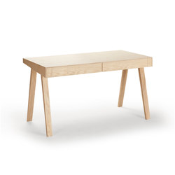 4.9 - 2 Drawers European Ash | Desks | EMKO
