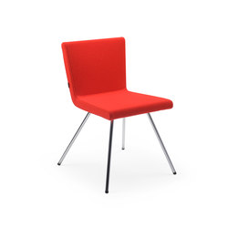 Hopper CE | Visitors chairs / Side chairs | Lande