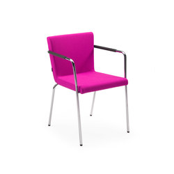 Hopper ST | Visitors chairs / Side chairs | Lande