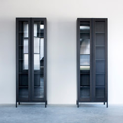 Greep cabinet glass doors | Vitrinas | Van Rossum