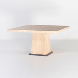 Kops dining table square | Mesas comedor | Van Rossum