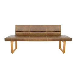 Bench Home Bench with Backrest | Sofás lounge | KFF