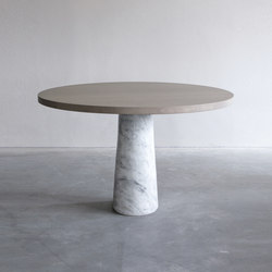 Stone dining table | Esstische | Van Rossum
