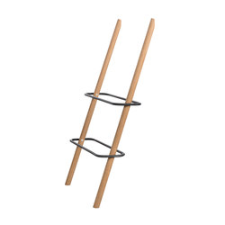 RECTANGLE Shoe Rack oak+black | Muebles zapateros | Nordic Hysteria