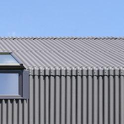 Swisspearl® Ondapress-57 | Facade cladding | Eternit (Schweiz) AG