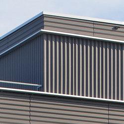Swisspearl® Ondapress-36 | Facade cladding | Eternit (Schweiz) AG