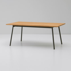 Bitta dining table extendable 6 guests | Dining tables | KETTAL