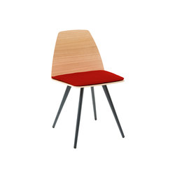 Sila Chair Cone Shaped | Sedie visitatori | Discipline