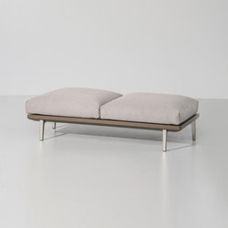 Boma bench 2-seater | Bancos de jardín | KETTAL