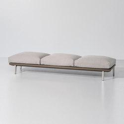 Boma bench 3-seater | Bancos de jardín | KETTAL