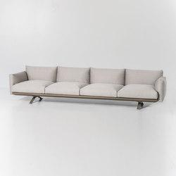 Boma 4-seater sofa | Sofas de jardin | KETTAL