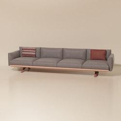Boma 4-seater sofa | Canapés | KETTAL
