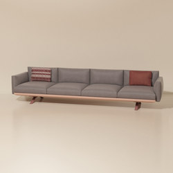 Boma 4-seater sofa | Divani da giardino | KETTAL