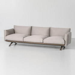 Boma 3 seater sofa | Garden sofas | KETTAL