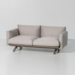 Boma 2 seater sofa | Garden sofas | KETTAL