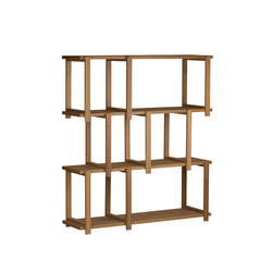 Woodblock | Shelving systems | Gotwob