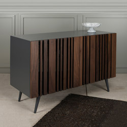 Striped Walnut Buffet | Sideboards / Kommoden | Gotwob