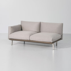 Boma left corner module | Garden sofas | KETTAL