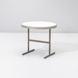 Boma side table Ø61 | Mesas auxiliares de jardín | KETTAL