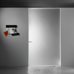 Aladin Pivot | Glass room doors | Glas Italia