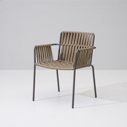 Net dining armchair | Garden chairs | KETTAL
