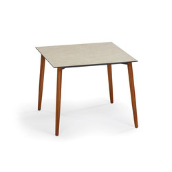 Slope Table, 90 x 90, Tabletop HPL | Tables de repas | Weishäupl