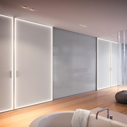 Partition wall systems | Sistemas de mamparas divisorias