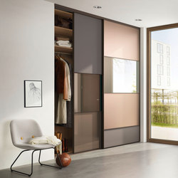 S 1200 sliding door system | Space dividing storage | raumplus