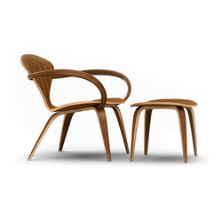 Cherner Lounge Chair and Ottoman | Armchairs | Cherner