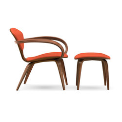 Cherner Lounge Chair and Ottoman | Poltrone | Cherner