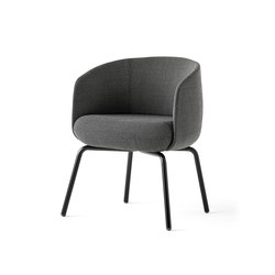 Low Nest Chair | Sedie visitatori | +Halle