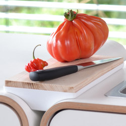 A la carte II insert food cutting board | Kitchen organization | Stadtnomaden