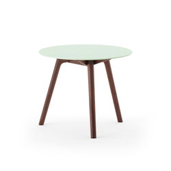 Nadia Side Table Round Lime Green | Mesas auxiliares | Meetee