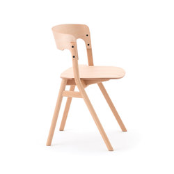 Sally Chair Natural | Chaises de restaurant | Meetee