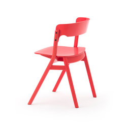 Sally Chair Red | Chaises de restaurant | Meetee