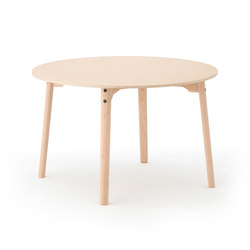 Sally Dining Table Natural | Mesas para restaurantes | Meetee