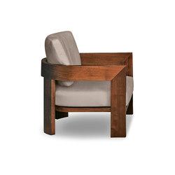 Warhol Iroko Outdoor | Garden armchairs | Minotti
