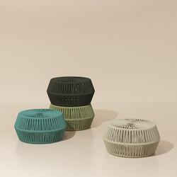Objects zigzag pouf | Tabourets | KETTAL