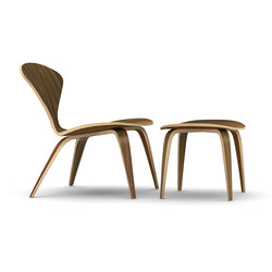 Cherner Lounge Chair and Ottoman | Sillones | Cherner