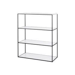 Twin Bookcase | Büroregalsysteme | by Lassen