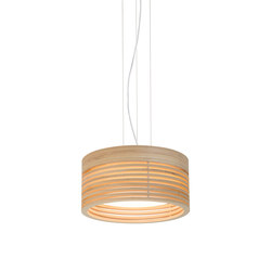 Raita Pendant Mini High | Suspended lights | Blond Belysning