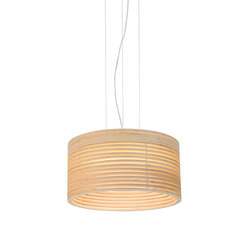 Raita Pendant Medi High | Suspended lights | Blond Belysning