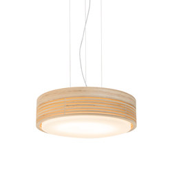 Raita Pendant Maxi Low | Suspended lights | Blond Belysning