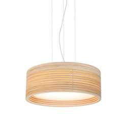 Raita Pendant Maxi High | Suspended lights | Blond Belysning