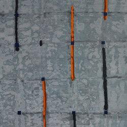 Shibori - Line sea | Tappeti / Tappeti d'autore | REUBER HENNING