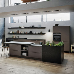 SieMatic SE 8008 LM | SE 4004 E | SieMatic 29 | Compact kitchens | SieMatic