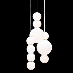 Pearls Chandalier 3 - ABD | Suspended lights | Formagenda