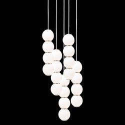 Pearls Chandalier 5 - BBBBB | Suspended lights | Formagenda