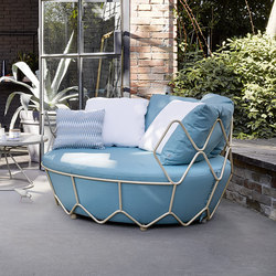 Gravity 9882 loveseat-armchair | Sillones | ROBERTI outdoor pleasure
